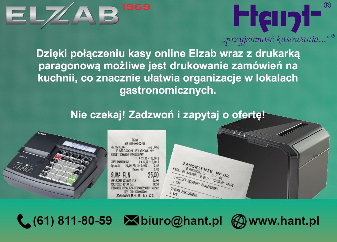 Kasa + drukarka zamówień