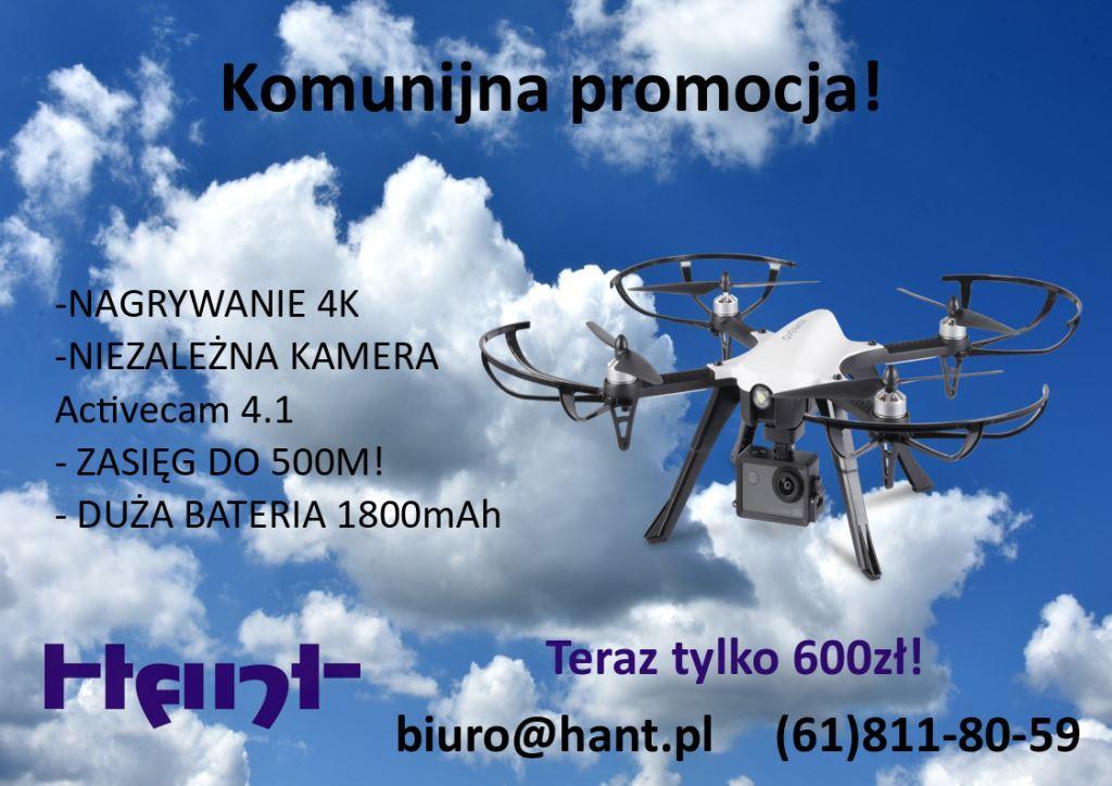 Prezent na komunię - dron