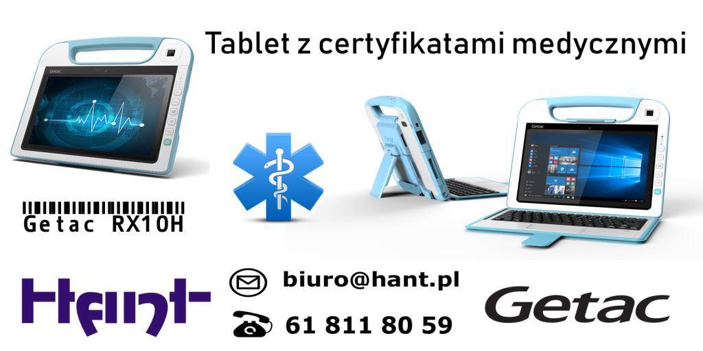Tablety medyczne Getac