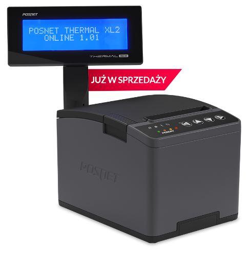 Drukarka fiskalna online POSNET XL online LAN